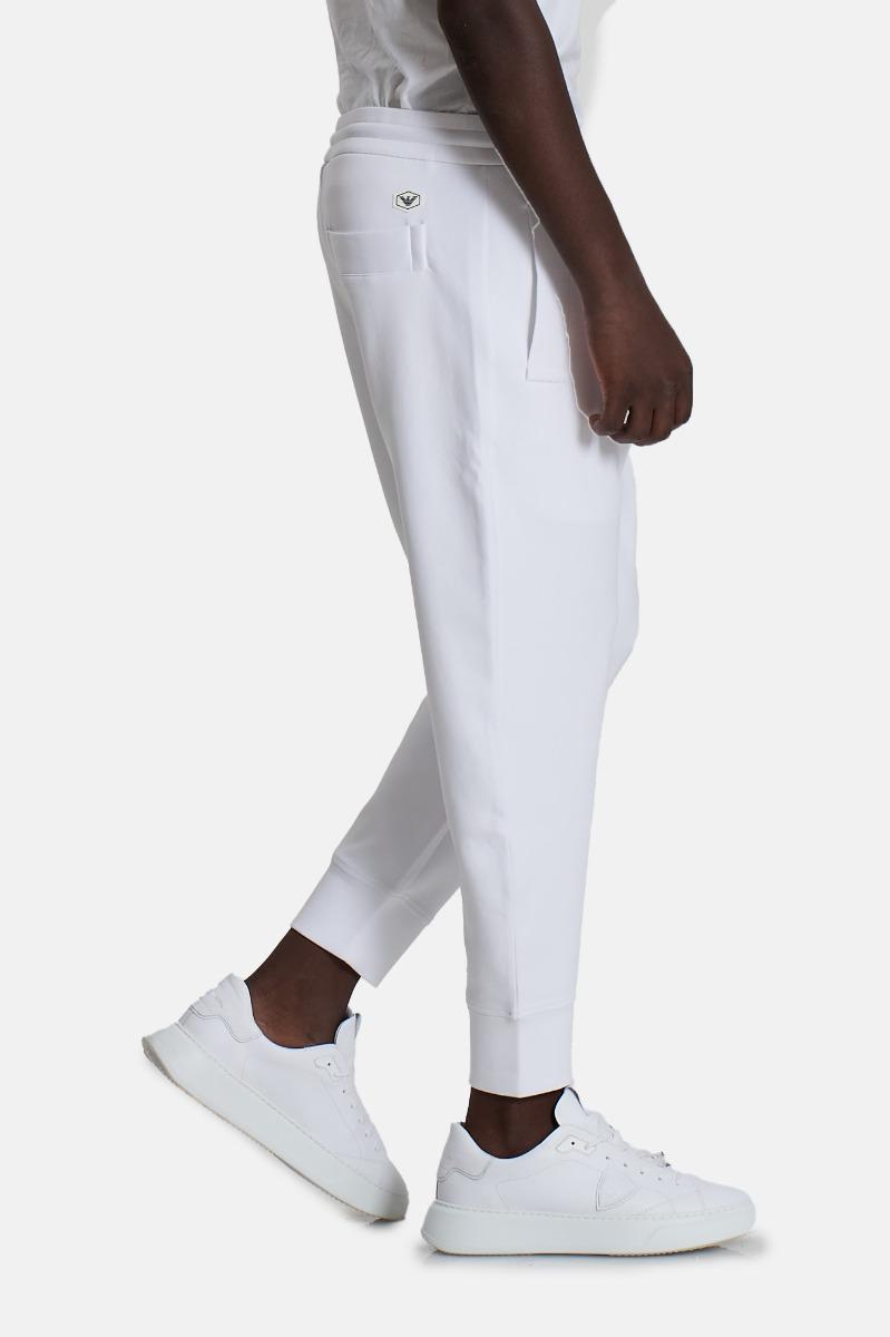 Pantaloni con coulisse -Bianco