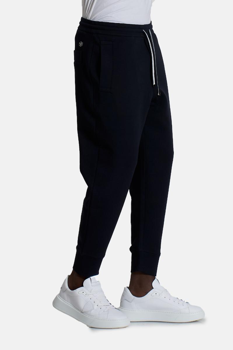 Pantaloni con coulisse -Blu