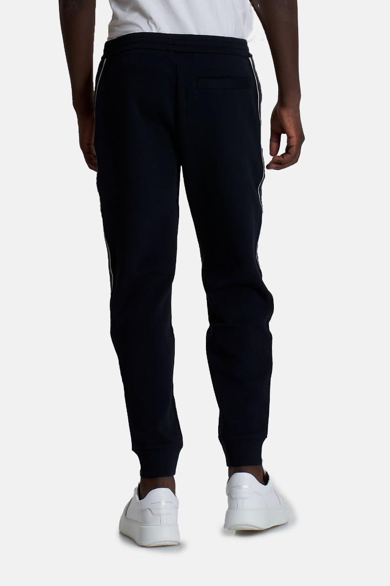 Pantalone felpa logo -Blu