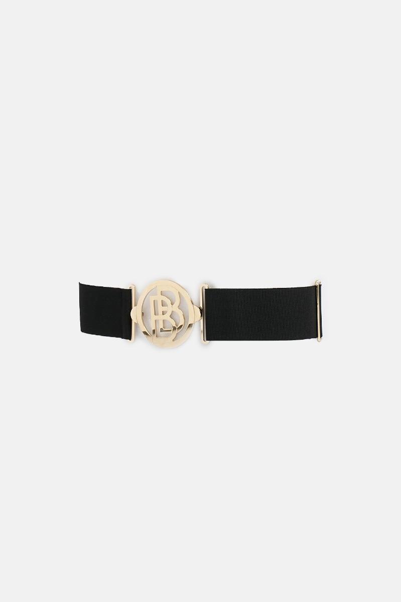Cintura elastica b grande - Nero