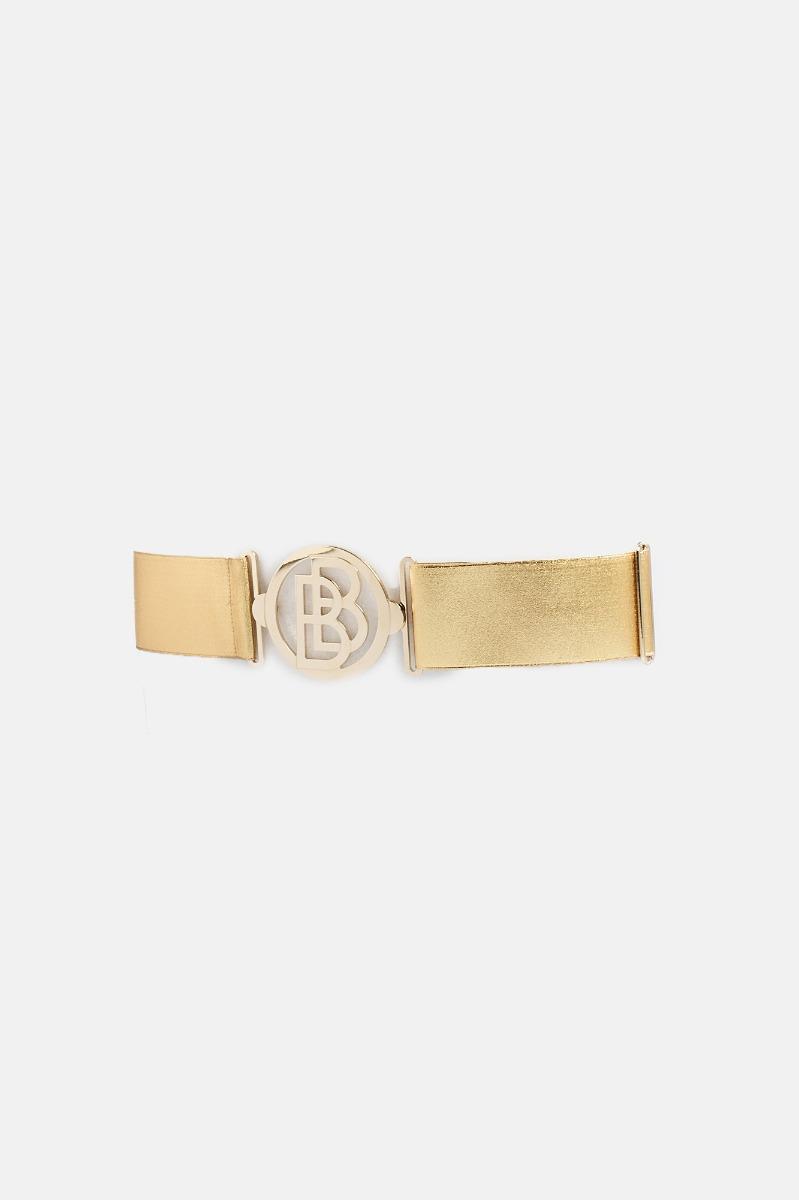 Cintura bgrande elastica - Oro