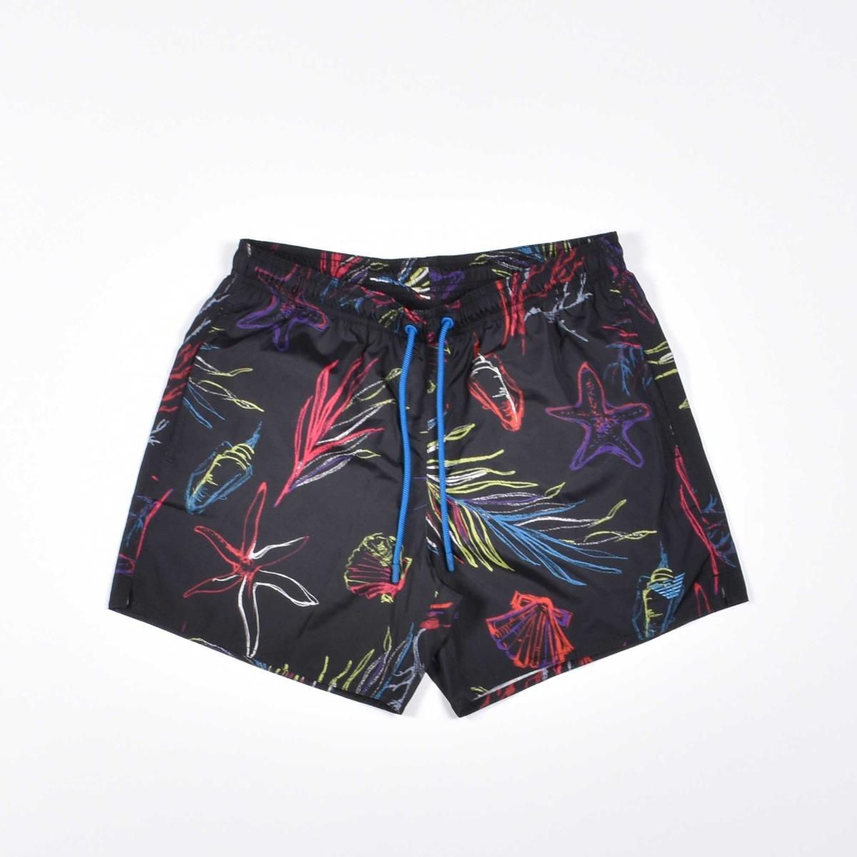 Costume boxer coralli- Nero