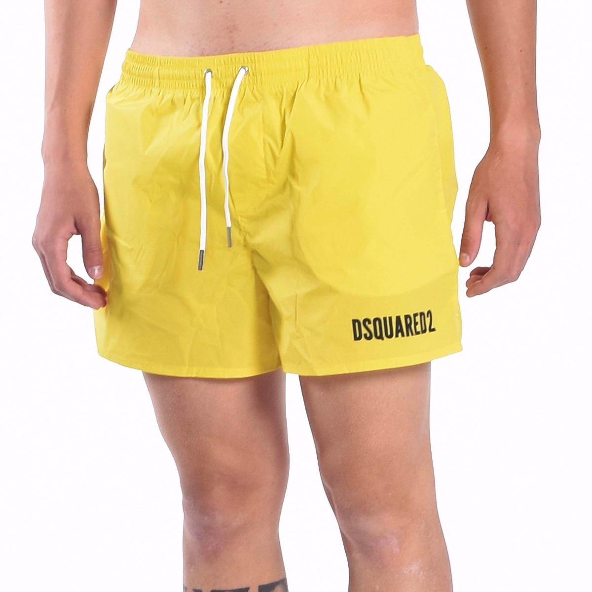 Boxer icon swim trunks- Giallo