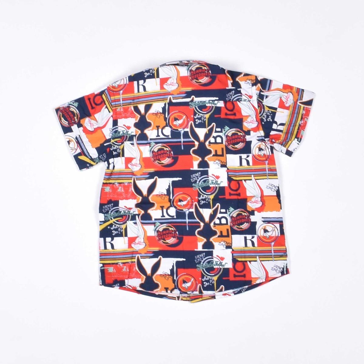 Camicia con fantasia - Rossa