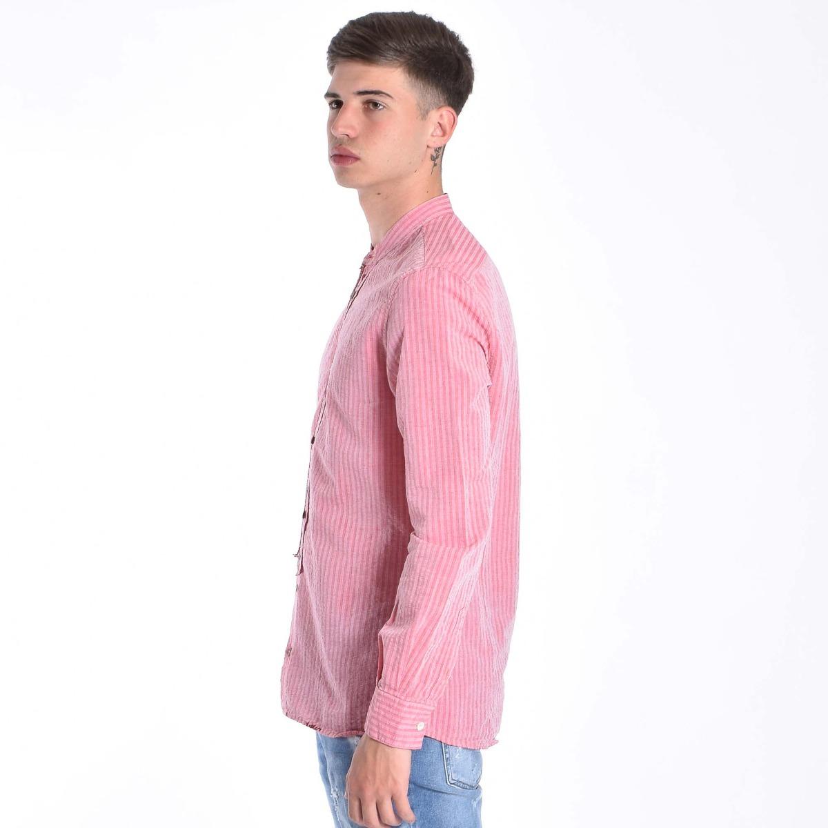 Camicia coreana- Rosso