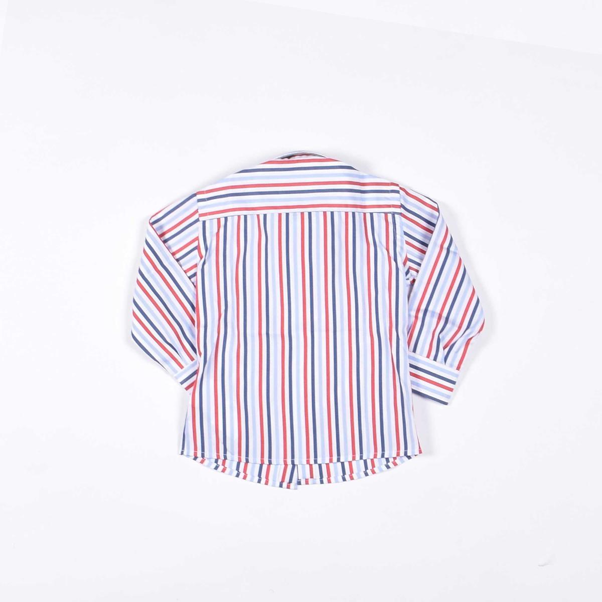 Camicia rigata - Bianca