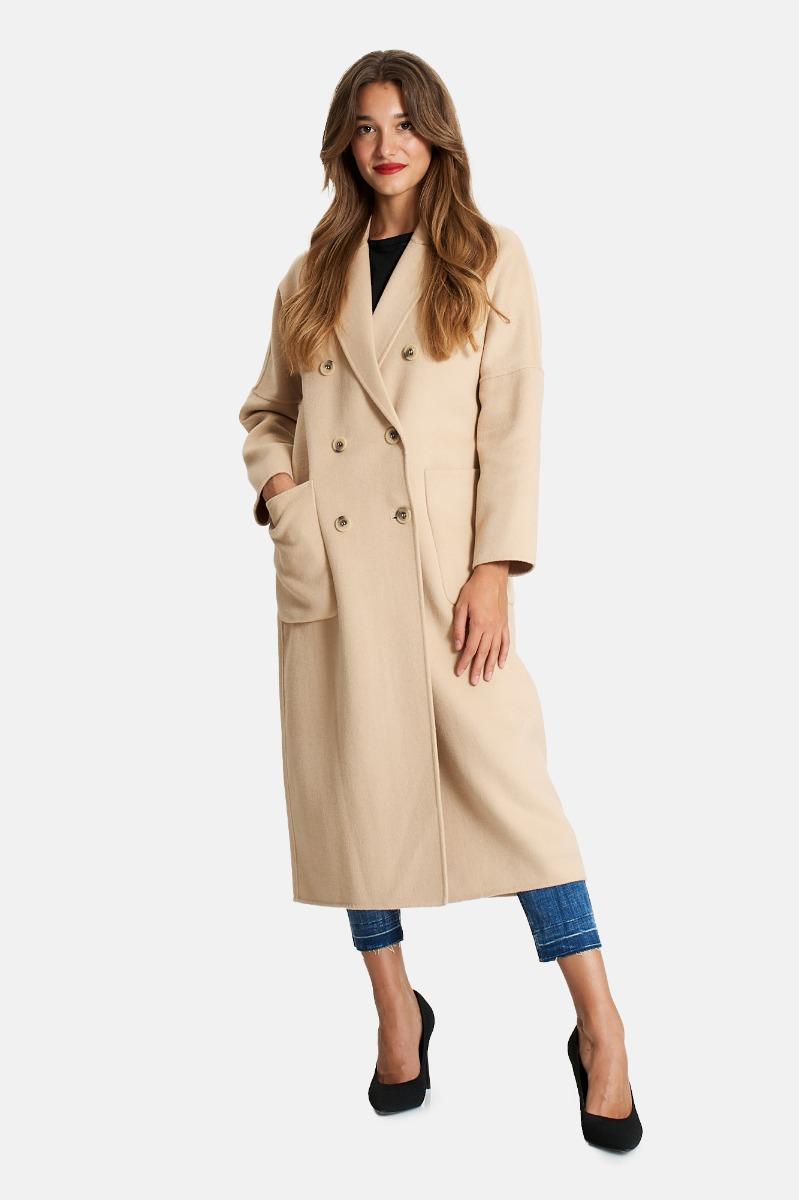 Cappotto lungo- Beige