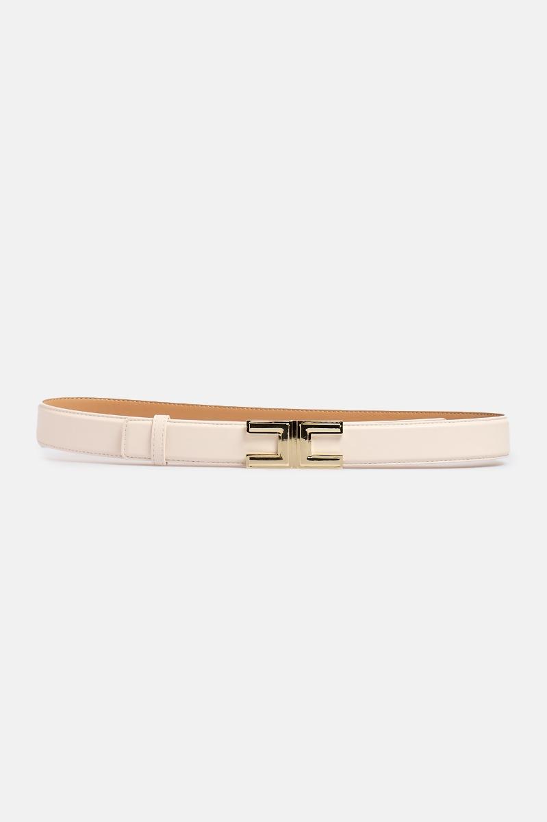Cintura piccola logo metallo - Burro