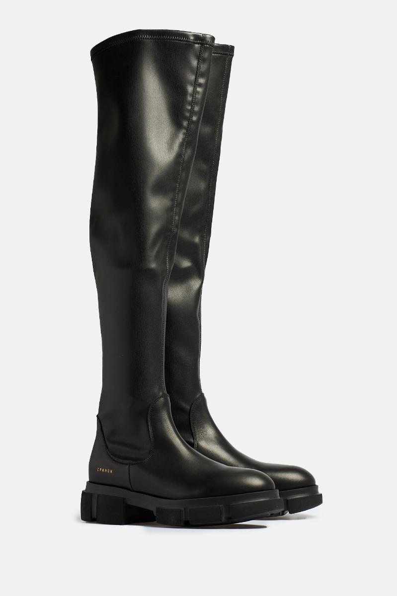Boots alto- Nero