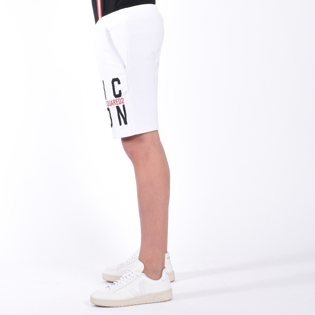 Bermuda D2Kids Icon Shorts - Bianco