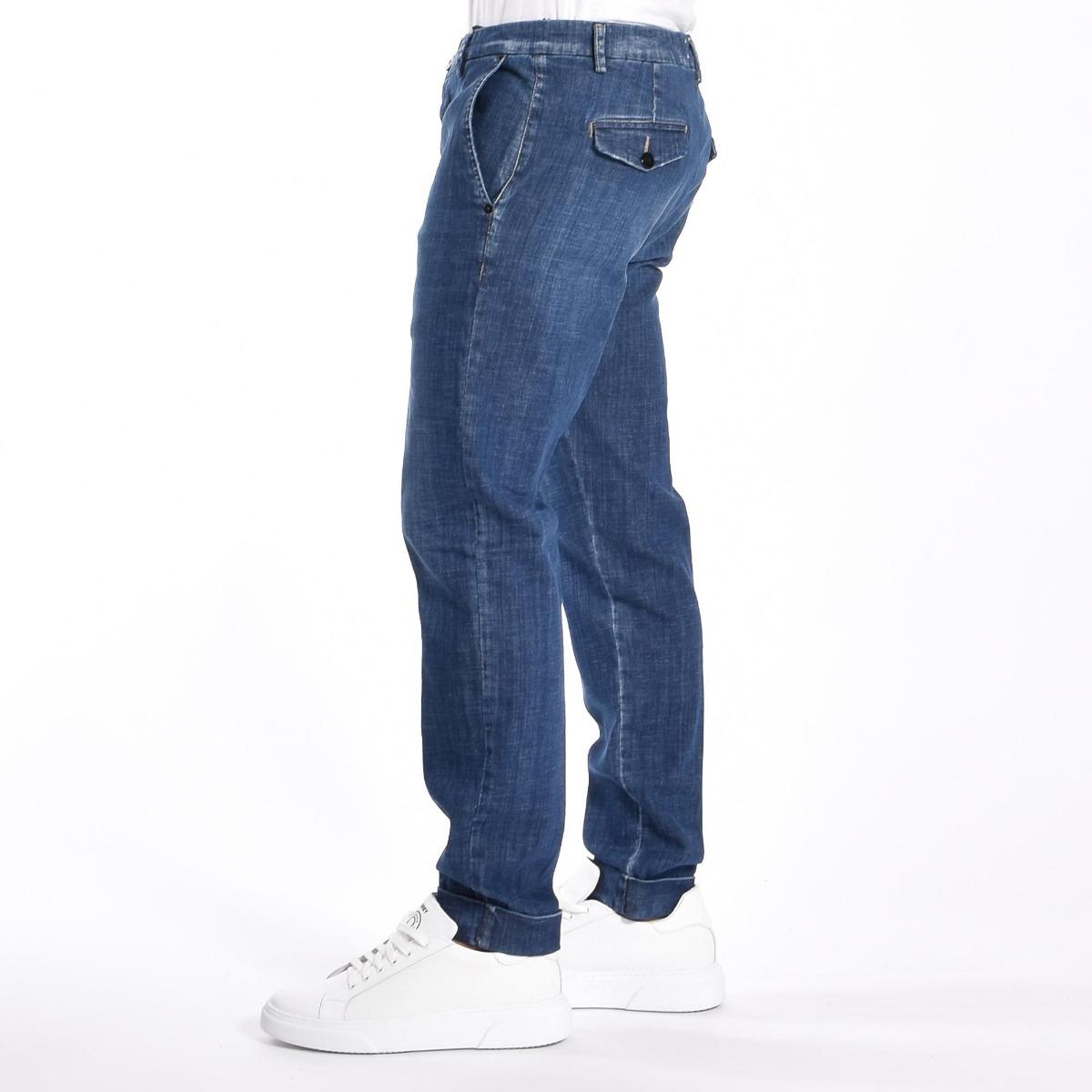 Jeans  tasca america- Denim scuro