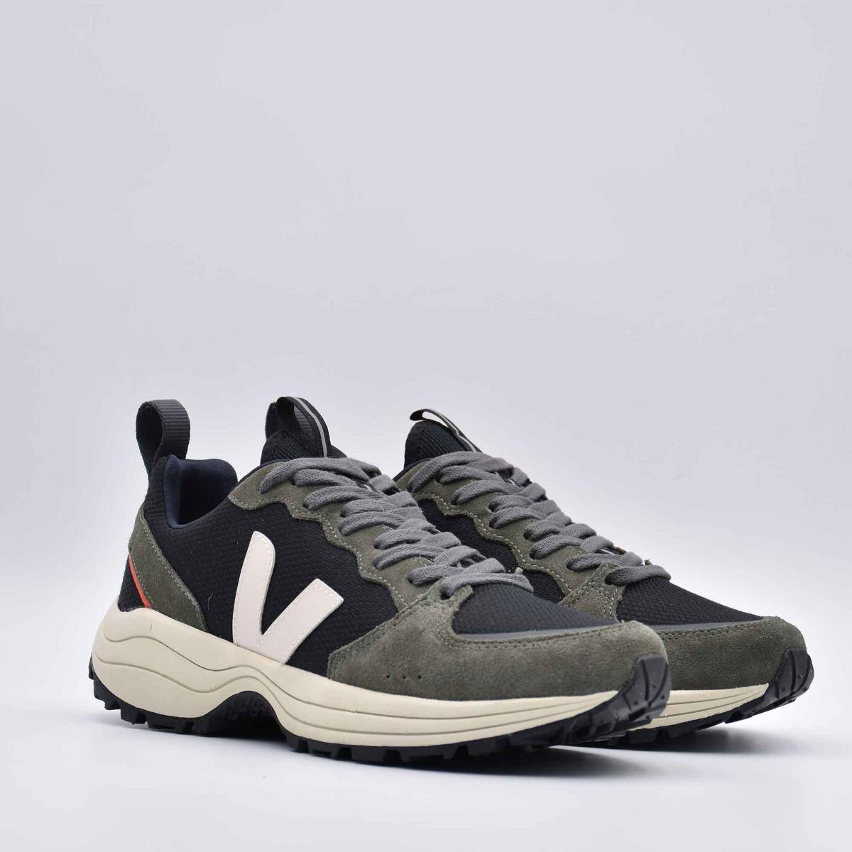 Sneaker venturi bastille- Nero/Verde
