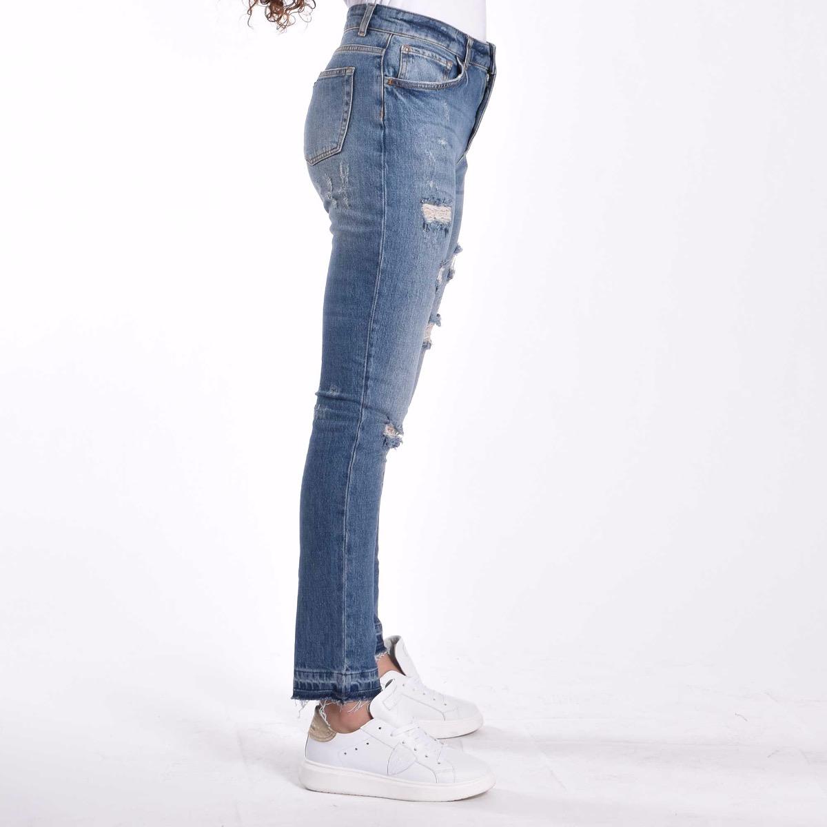Jeans con strappi - Denim