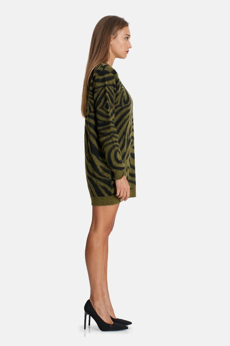 Dress waves -Verde