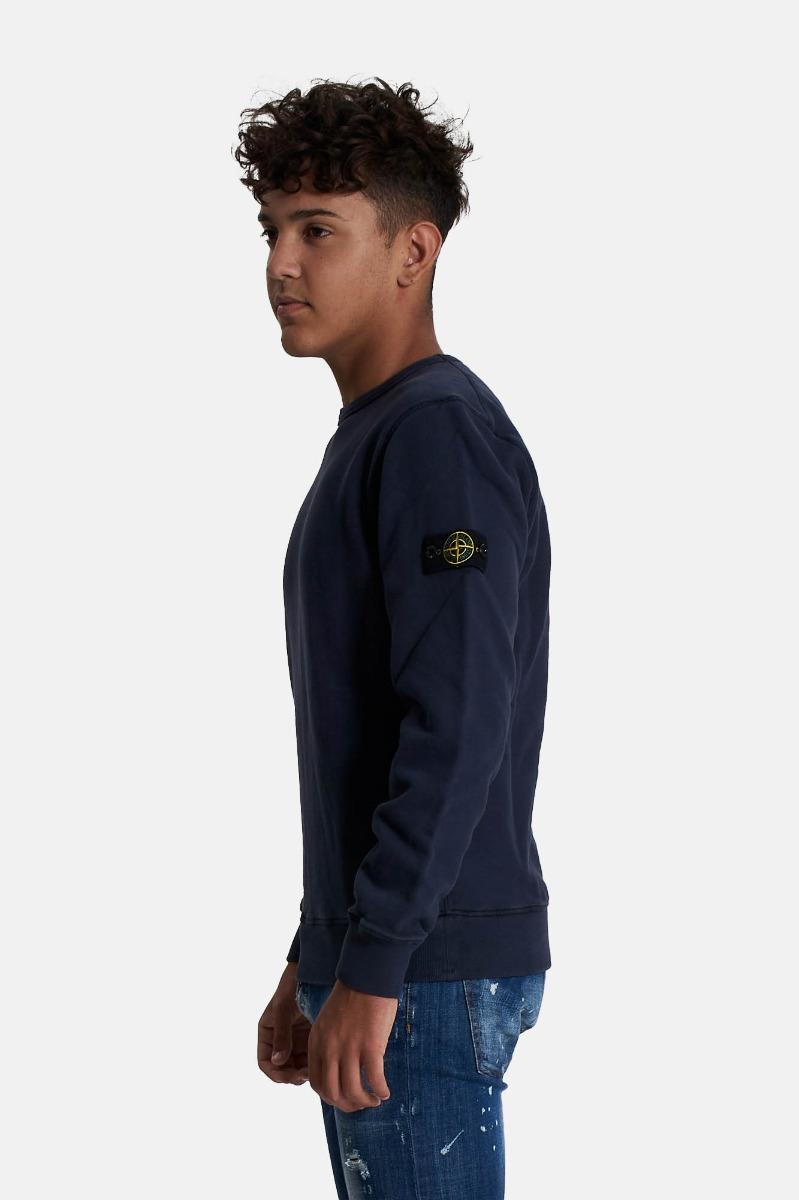 Felpa con logo - Blu Navy