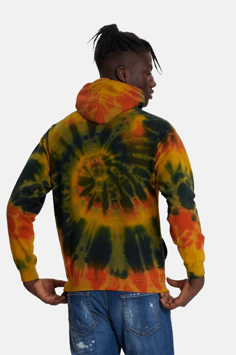 Felpa stromboli maltinto - Multicolore
