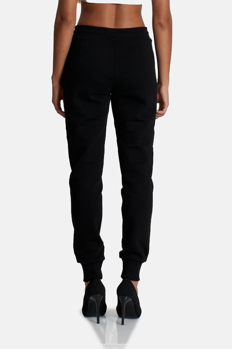Pantalone emblem foil - Nero