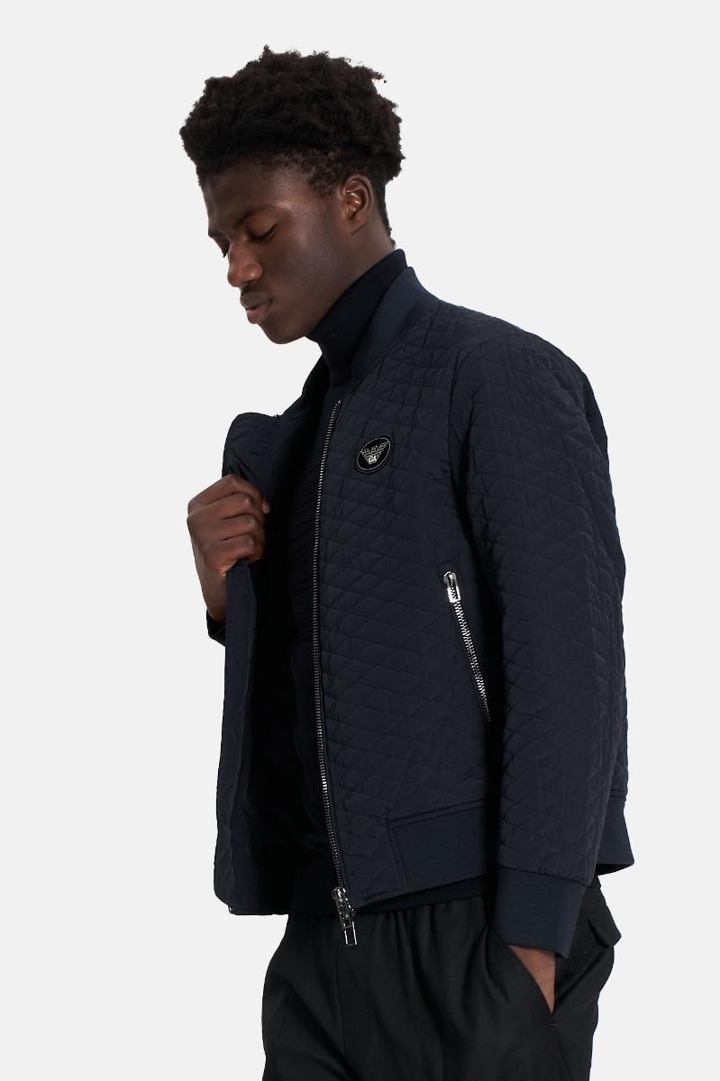 Blouson jacket tecnico -Blu