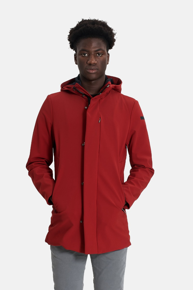 Thermo jacket -Rosso