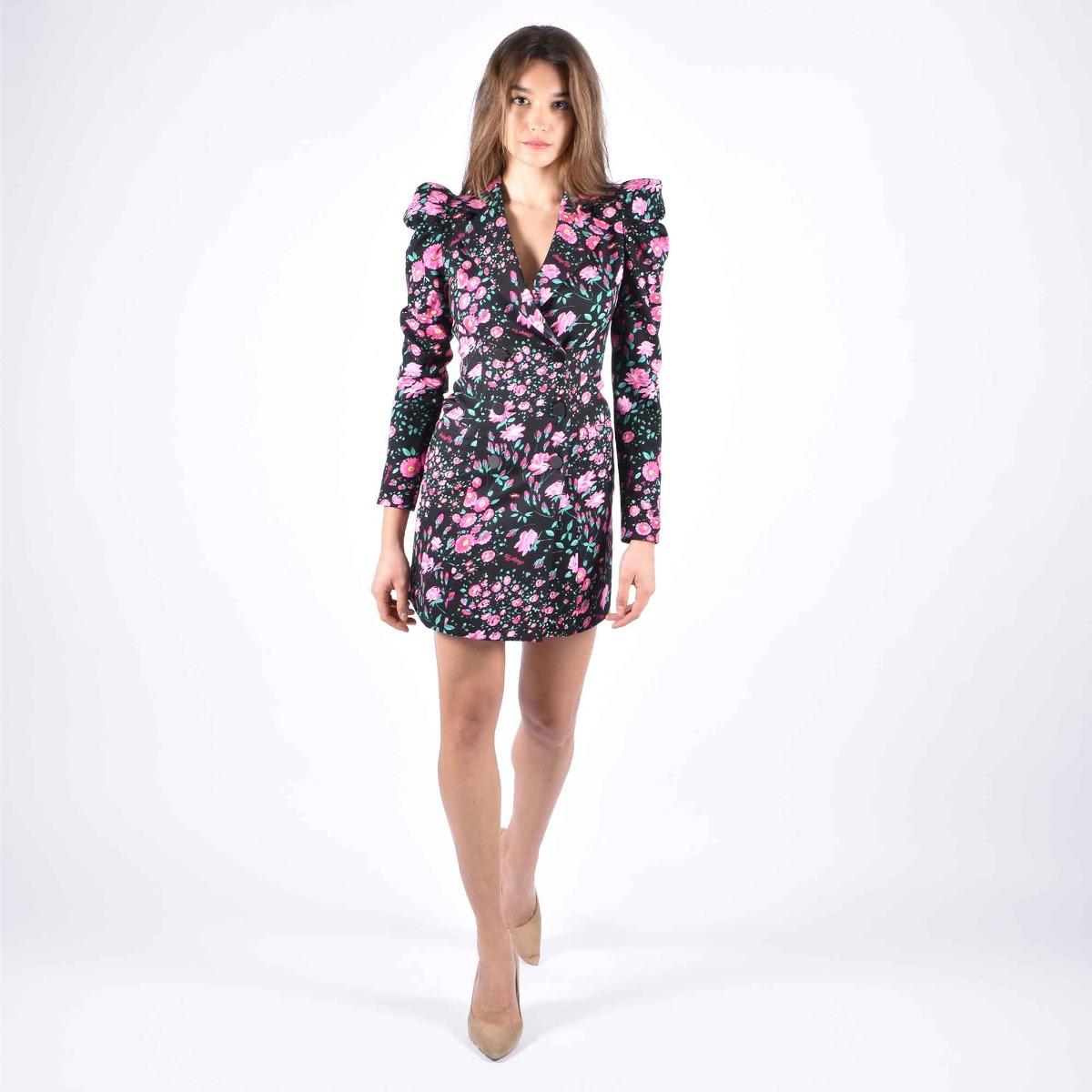 Jacket dress garden- Nero