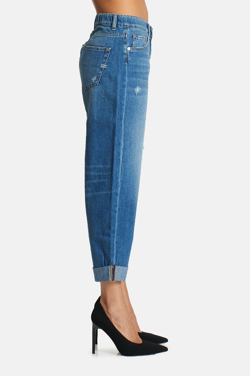 Jeans boy friend -Blu