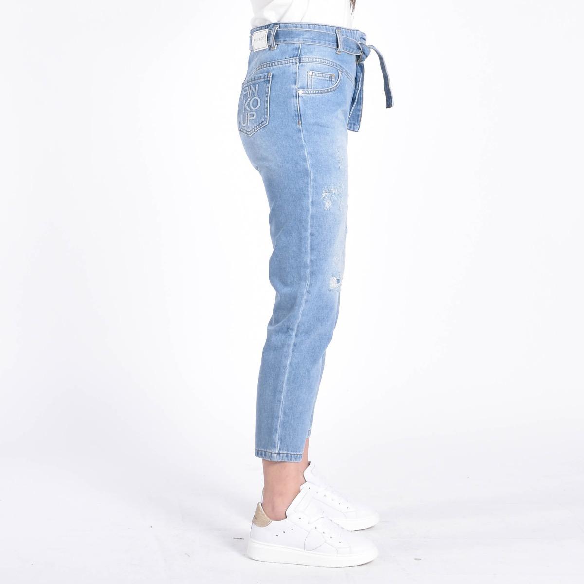 Jeans con cintura - Denim