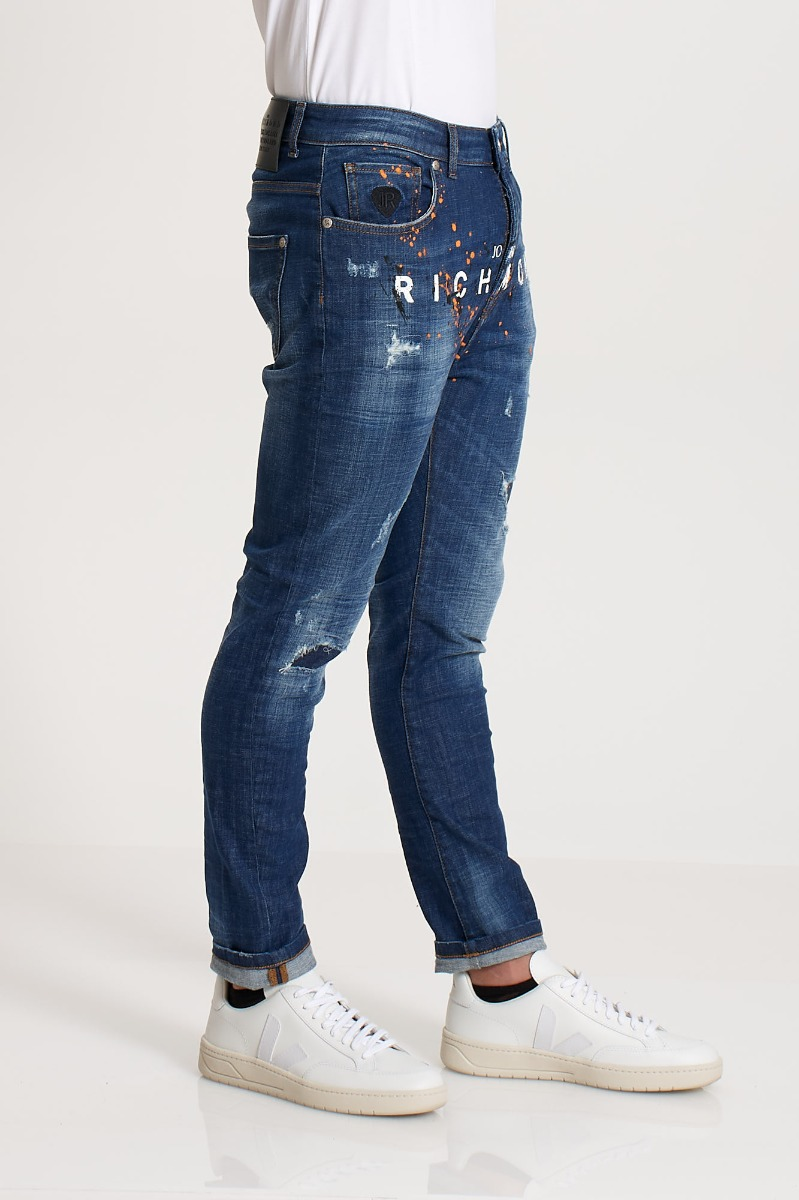 Jeans balkir (mick) - Denim scuro