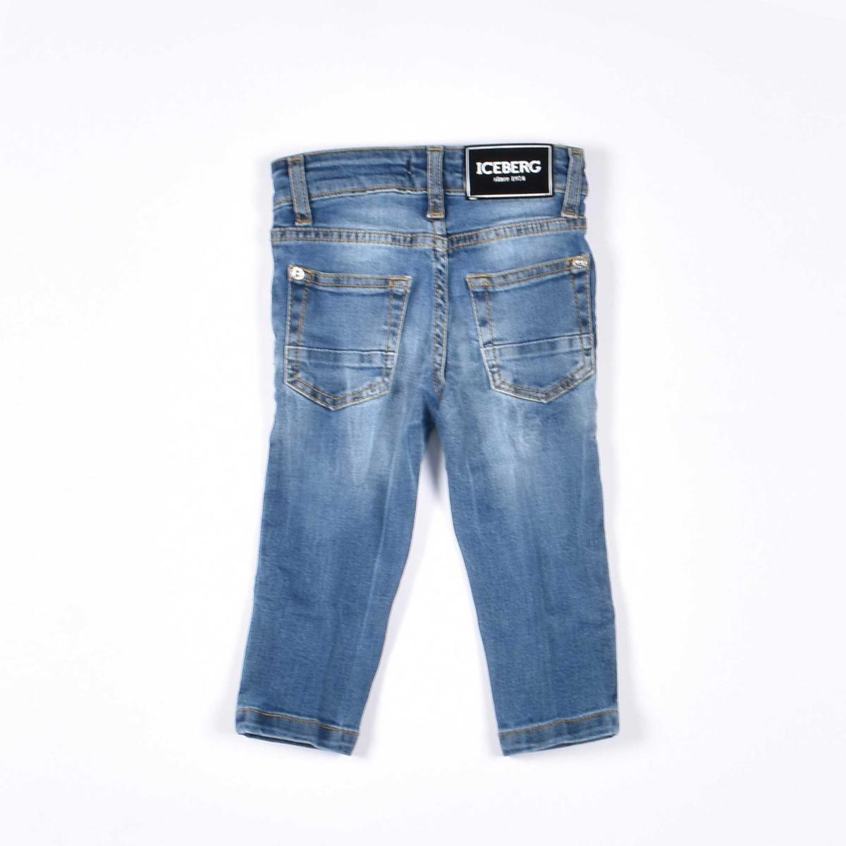 Jeans con taschino - Denim