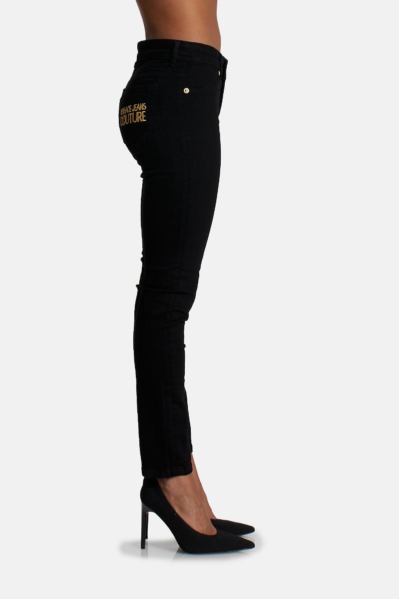 Jeans legging logo - Nero