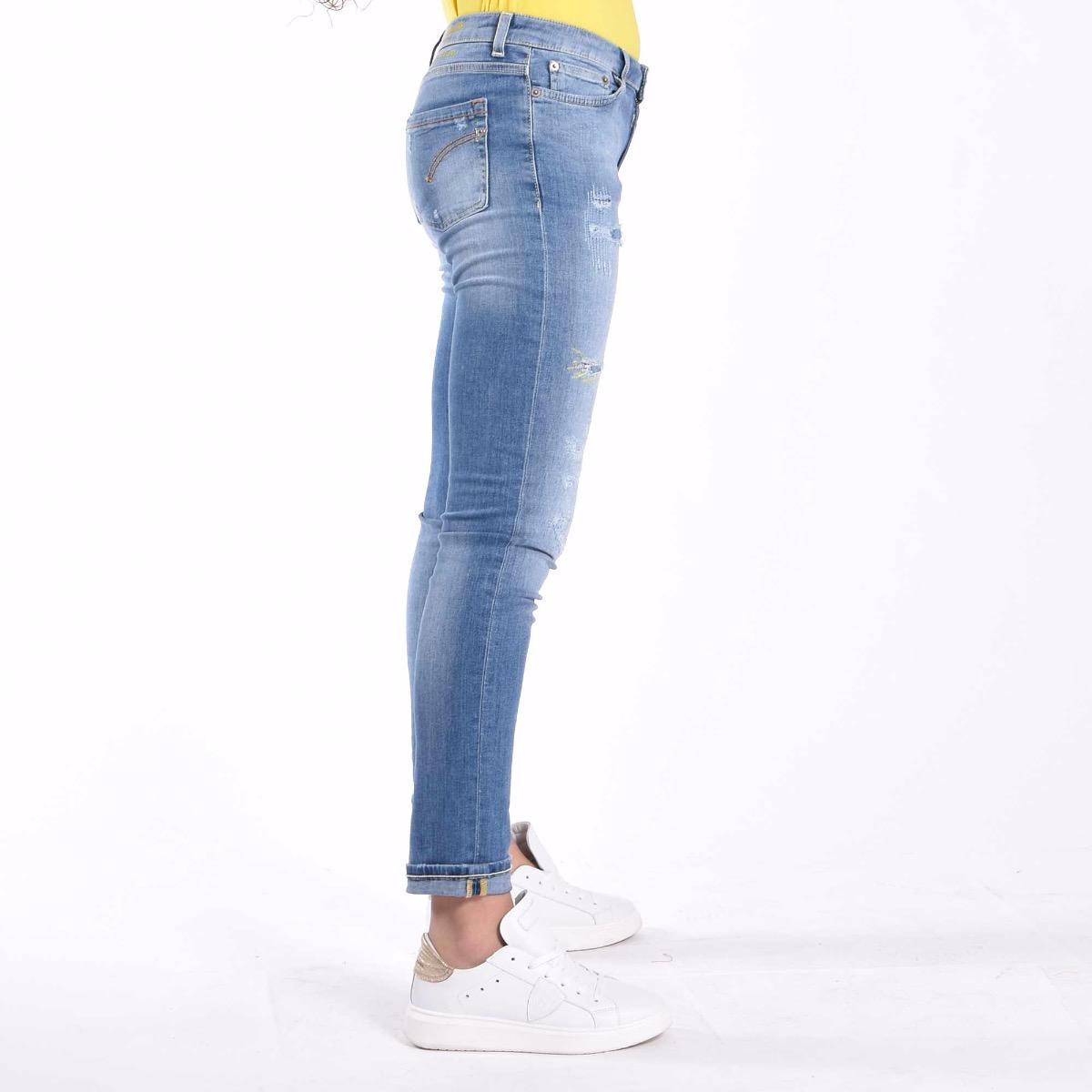 Jeans Monroe con rotture - Denim