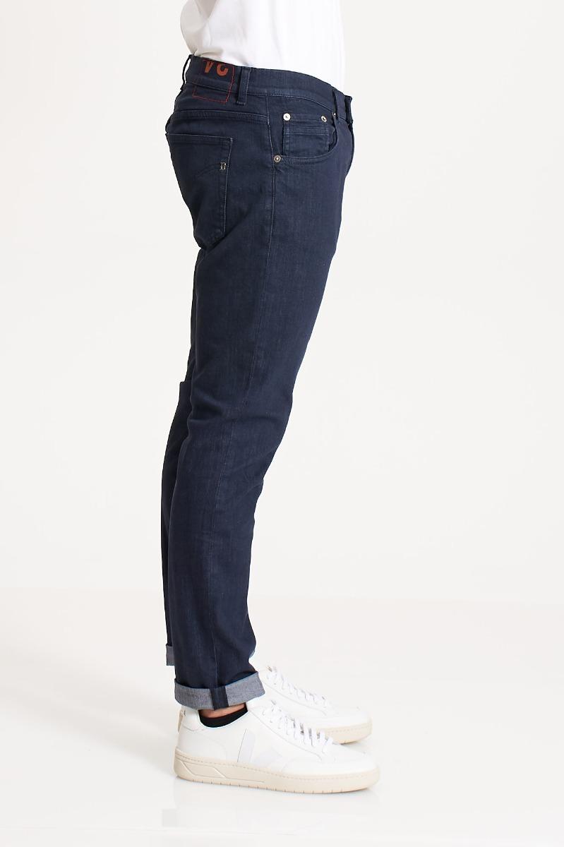 Jeans richie risvolto - Denim scuro