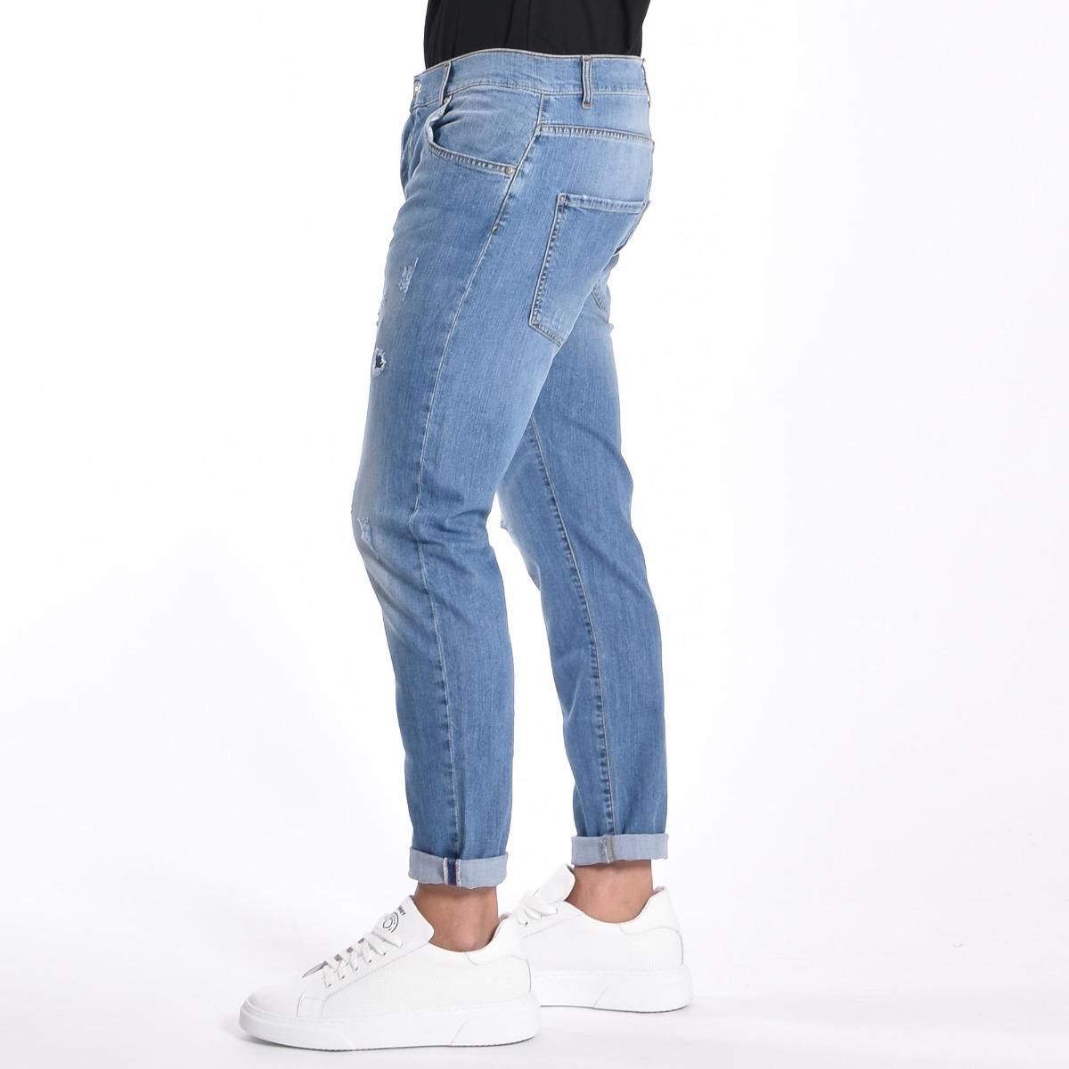 Jeans rotture- Denim chiaro
