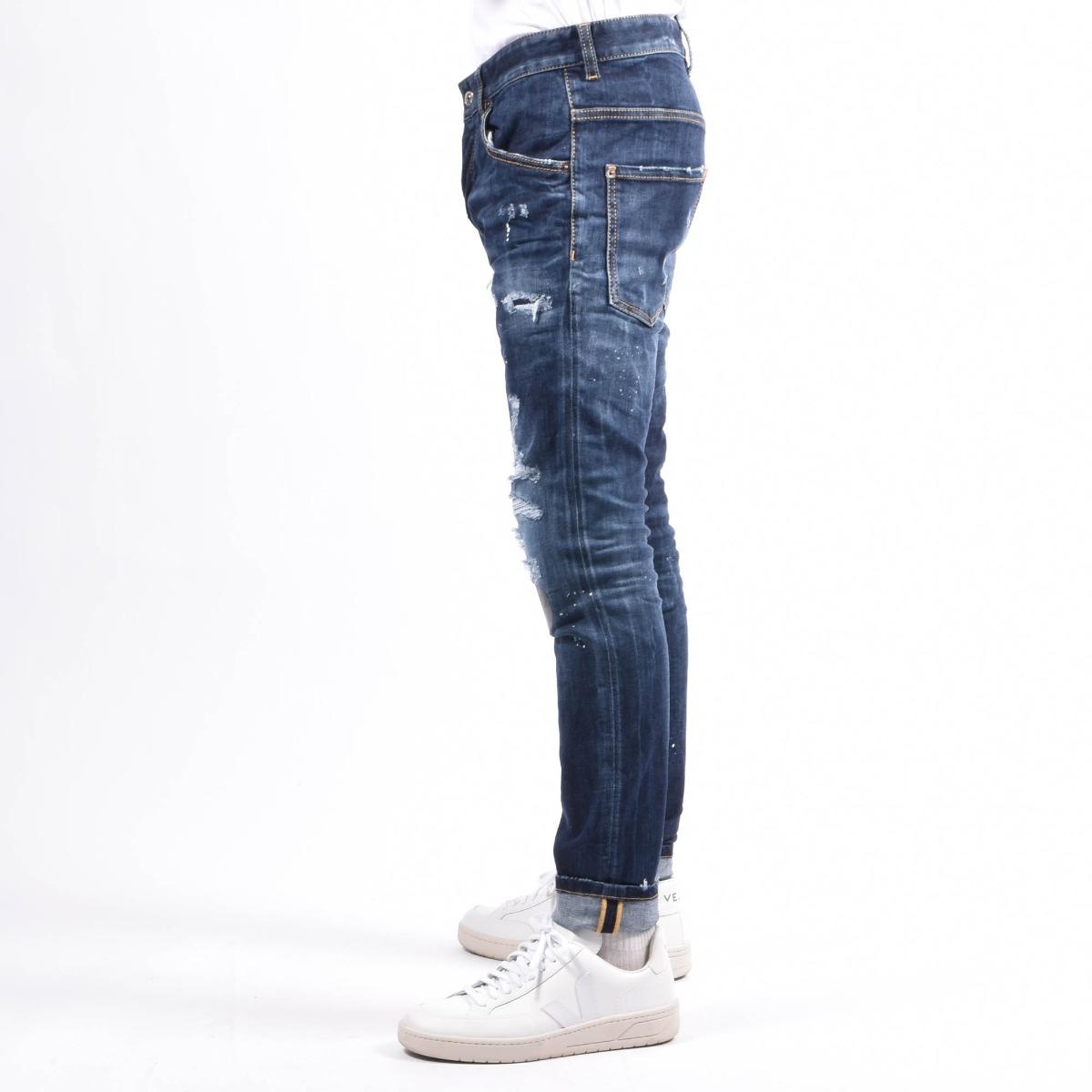 Jeans skater- Denim medio