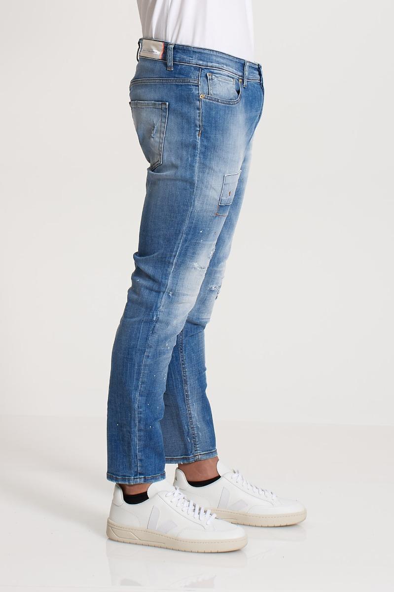 Jeans skinny gerard - Denim chiaro