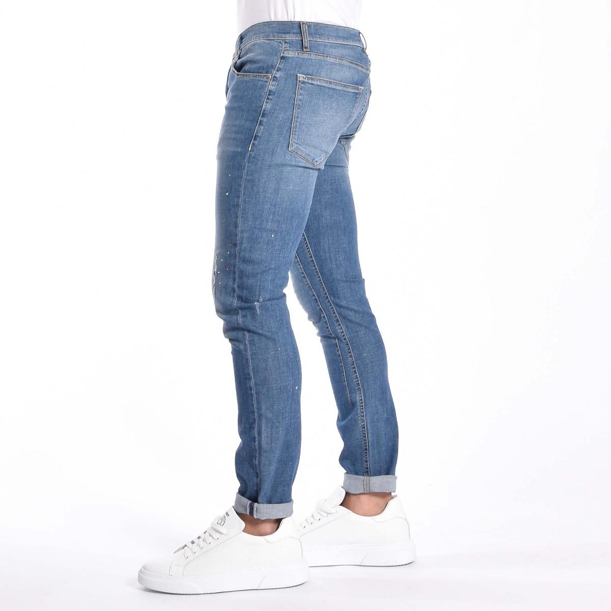 Jeans strappi- Denim medio