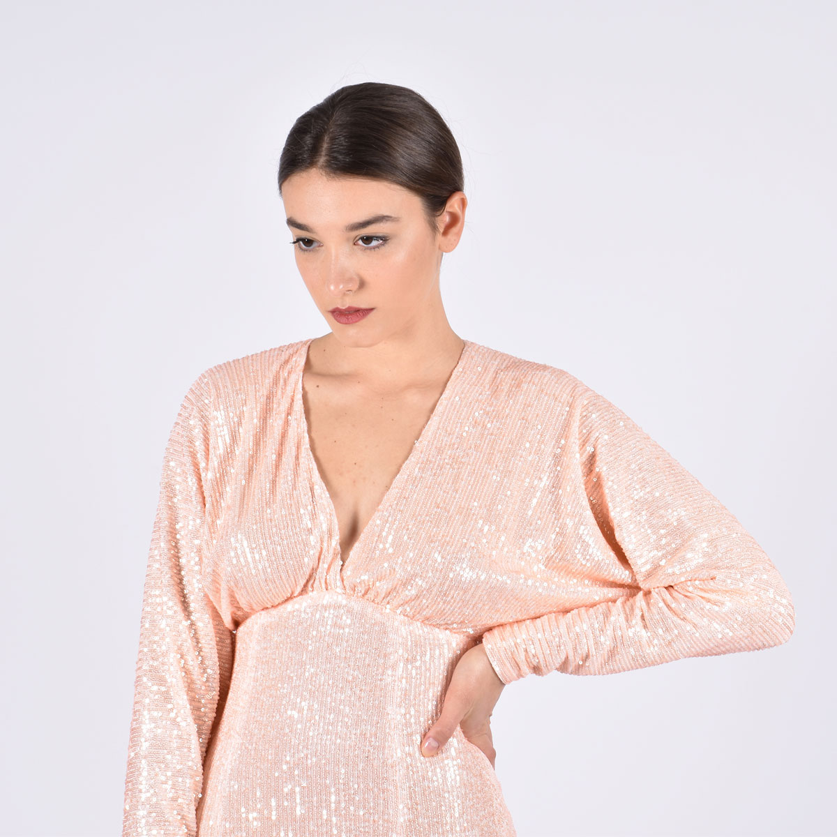 Kimono dress moon - Peach