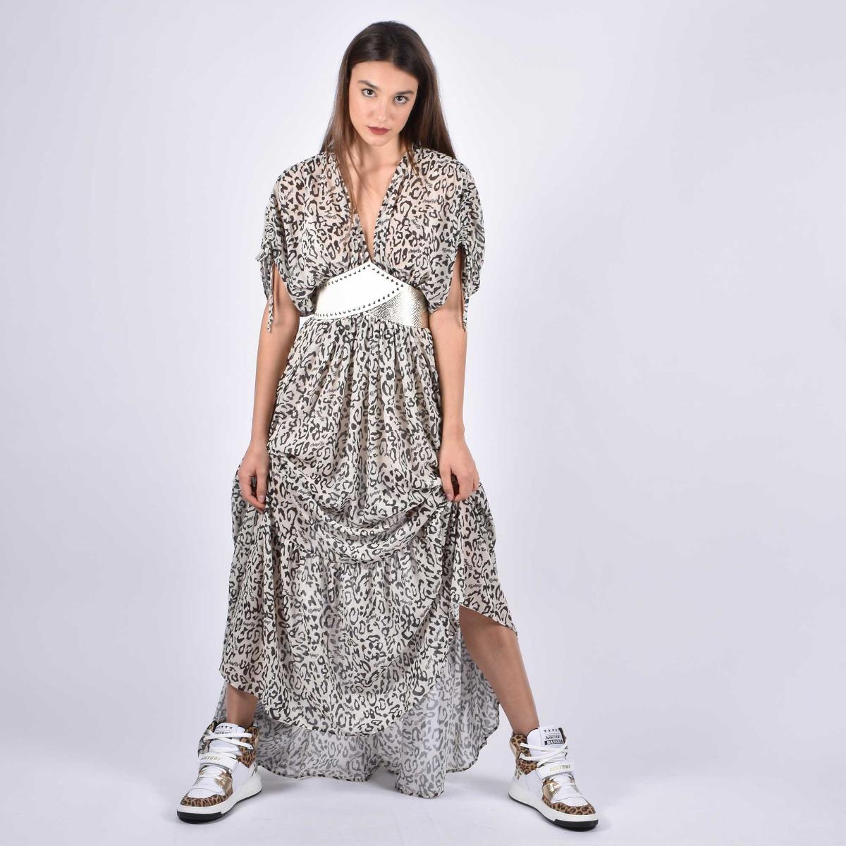 Long dress nancy- Macu white