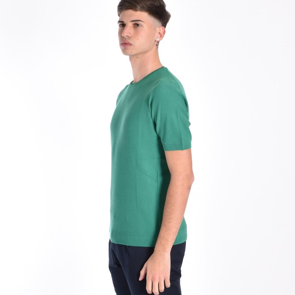 Maglia canestrino- Verde