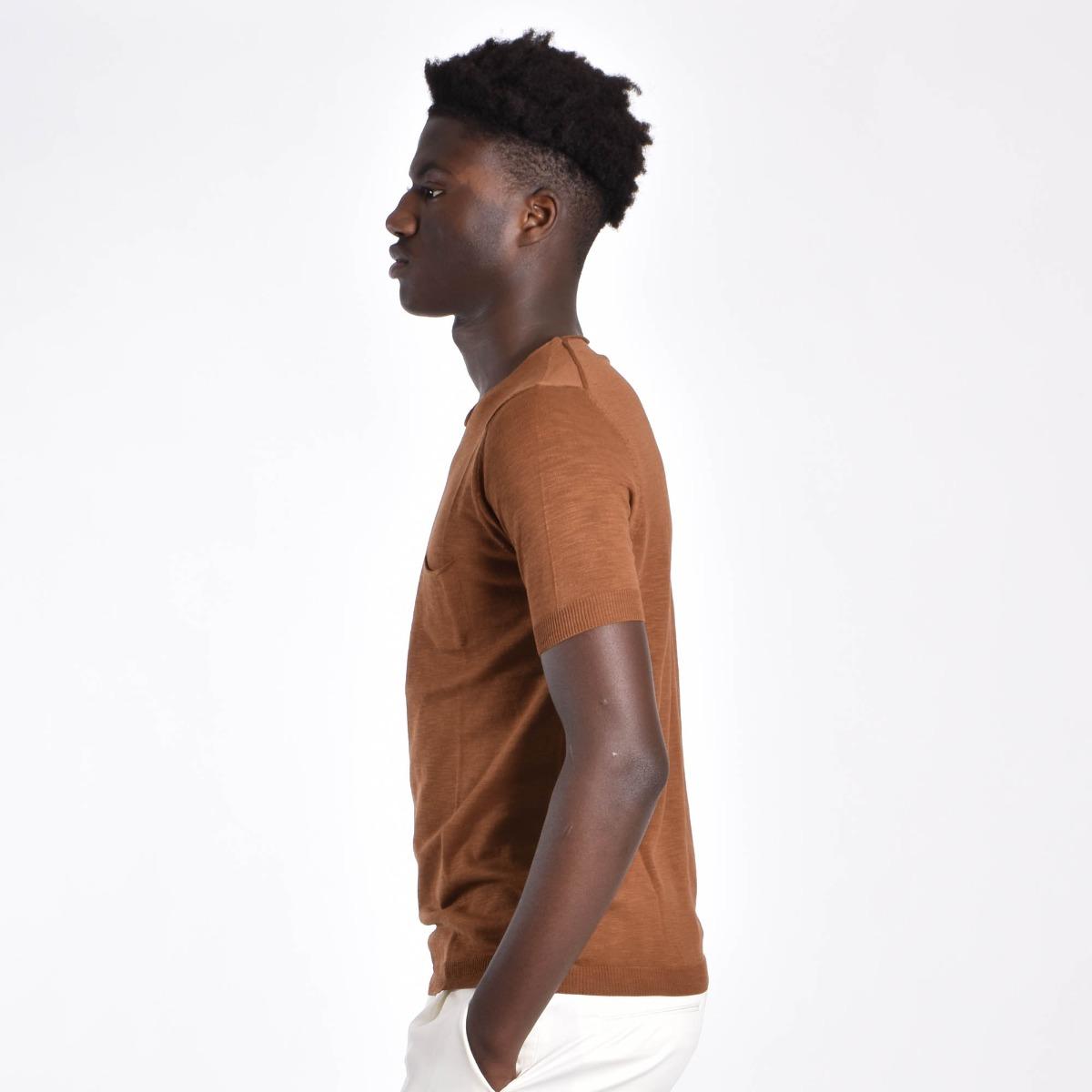 T-shirt olona - Cammello