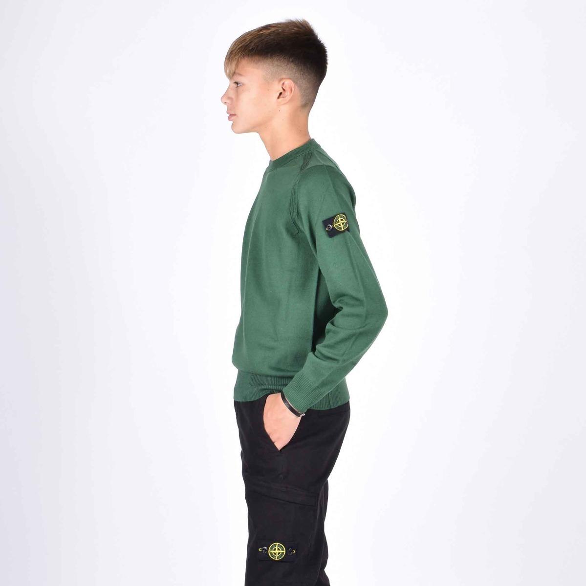 Maglia patch logo- Verde