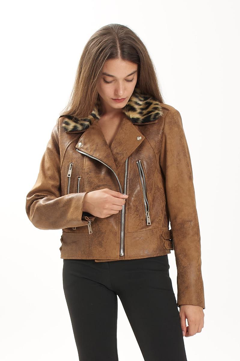 Nancy jacket- Cognac