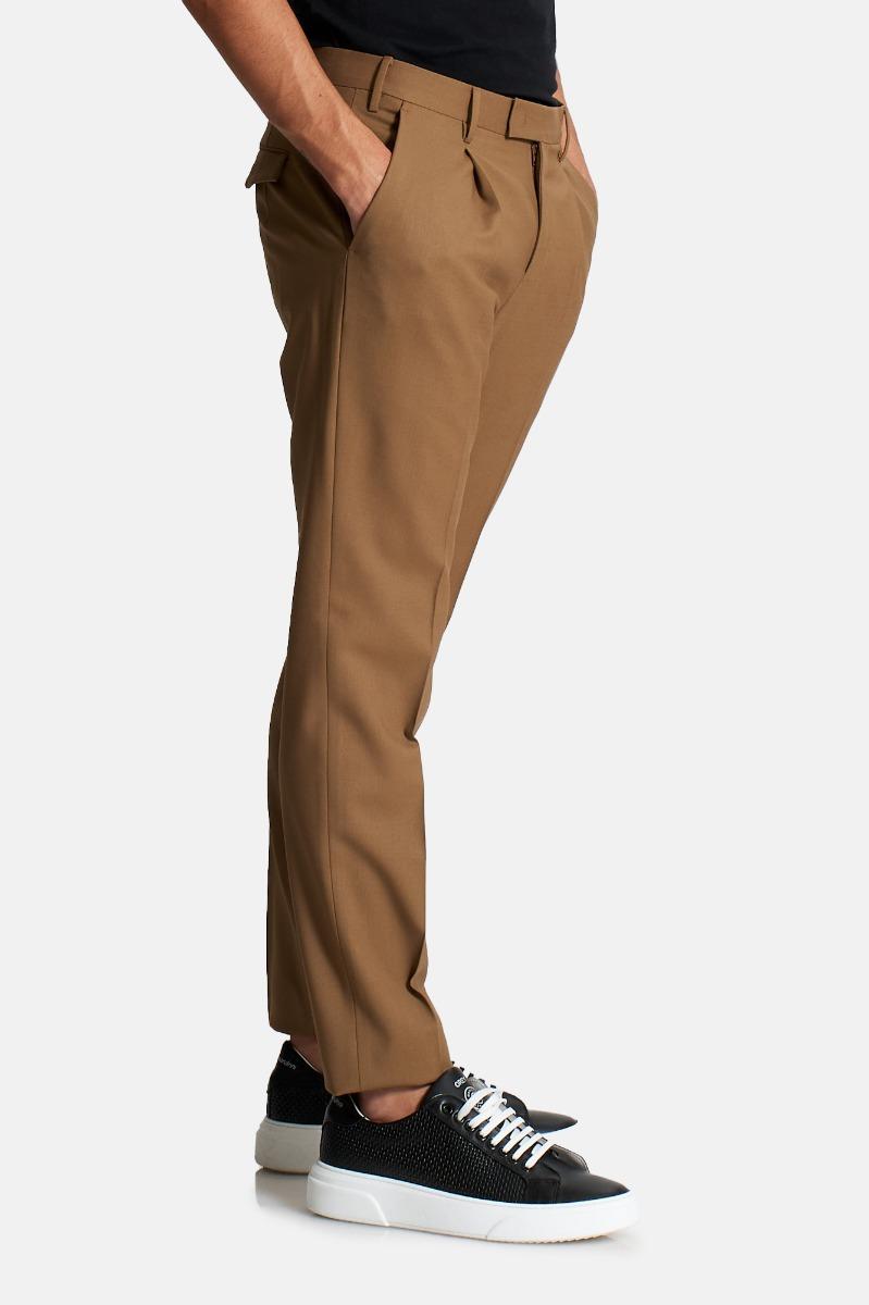 Pantalone pences master to55 -Cammello