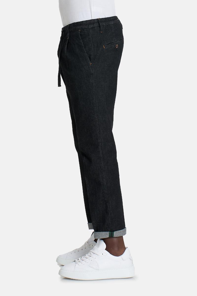Pantalone 54r15349 effetto jea -Nero