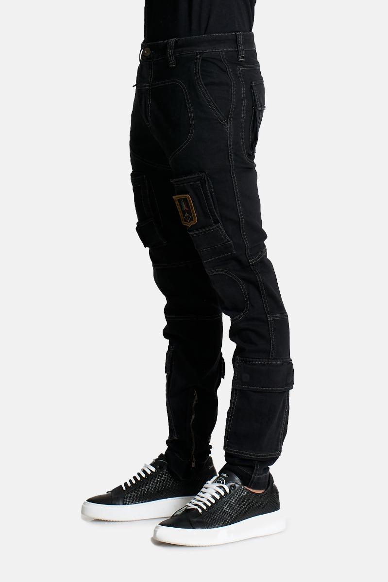Pantalone anti g -Nero