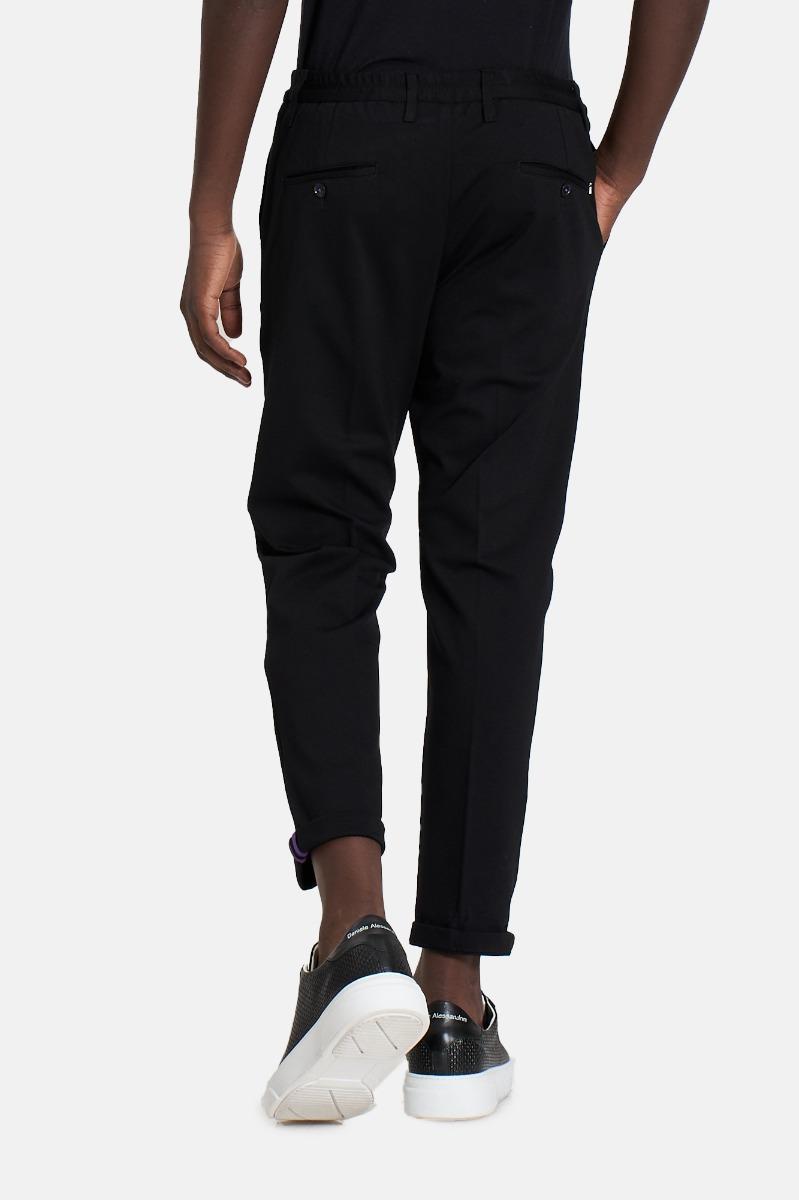 Pantalone 54r3 tex milano -Nero
