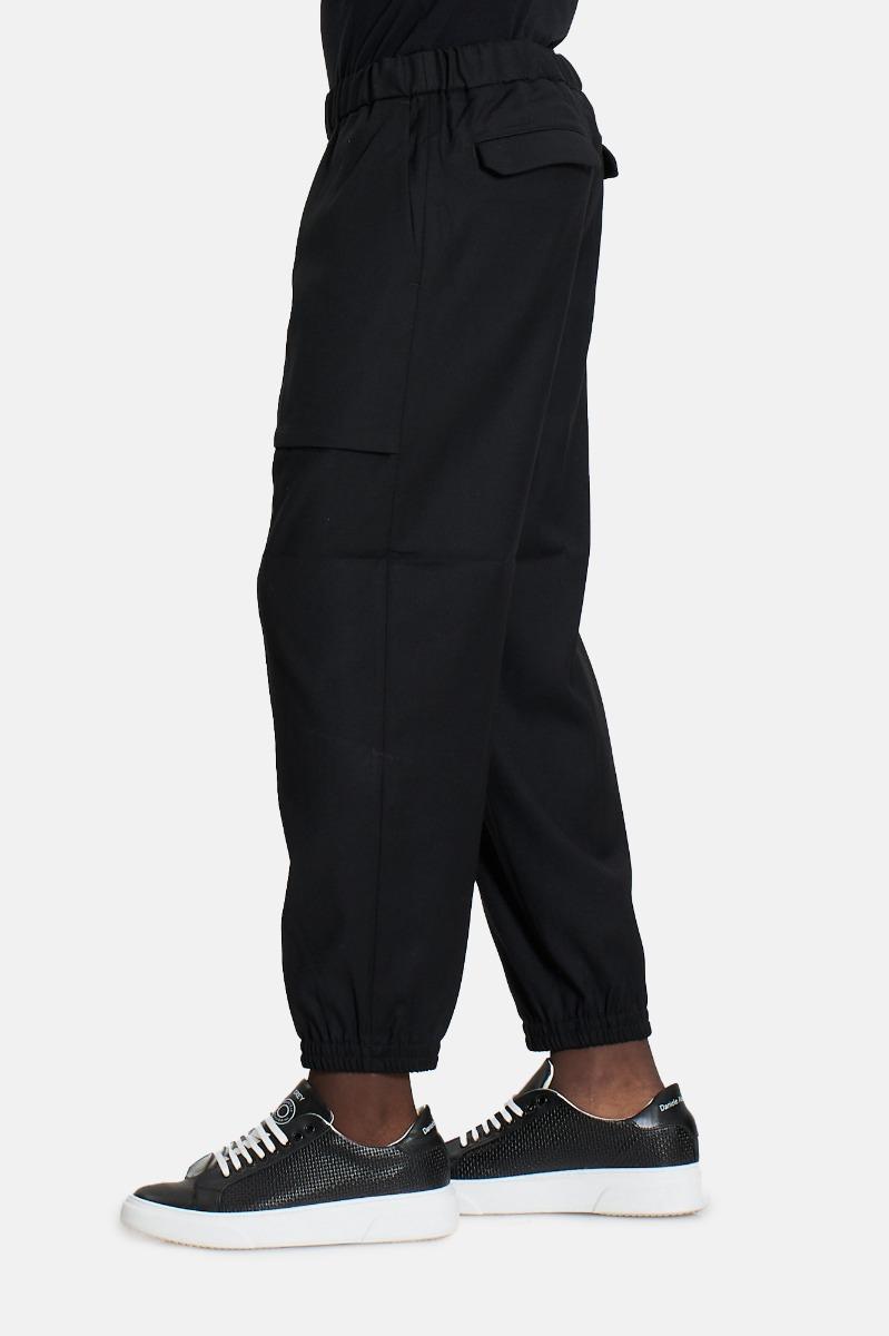 Pantalone tsc amrc polsino -Nero