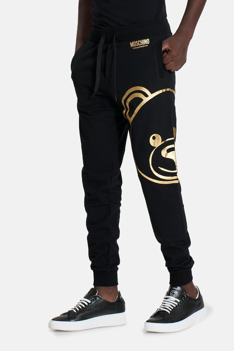 Pantalone orsetto grande -Nero