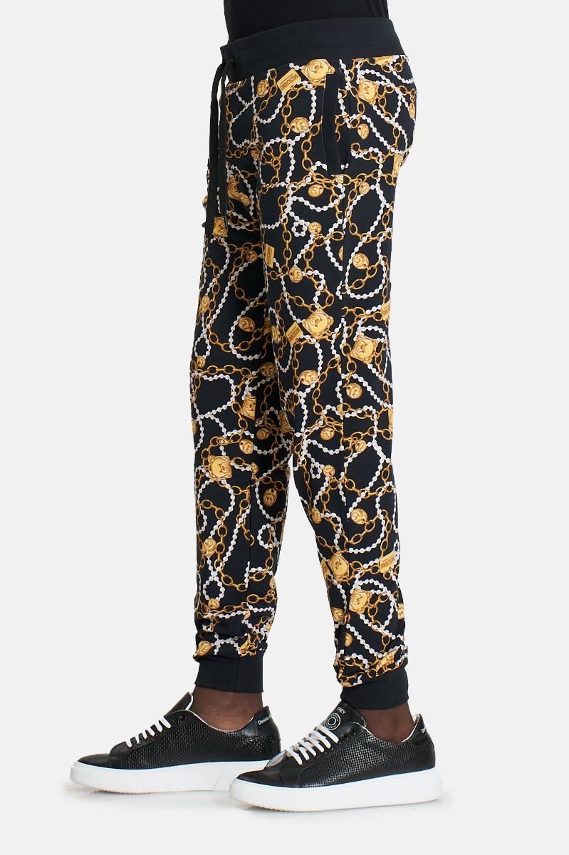 Pantalone tuta st catena -Nero