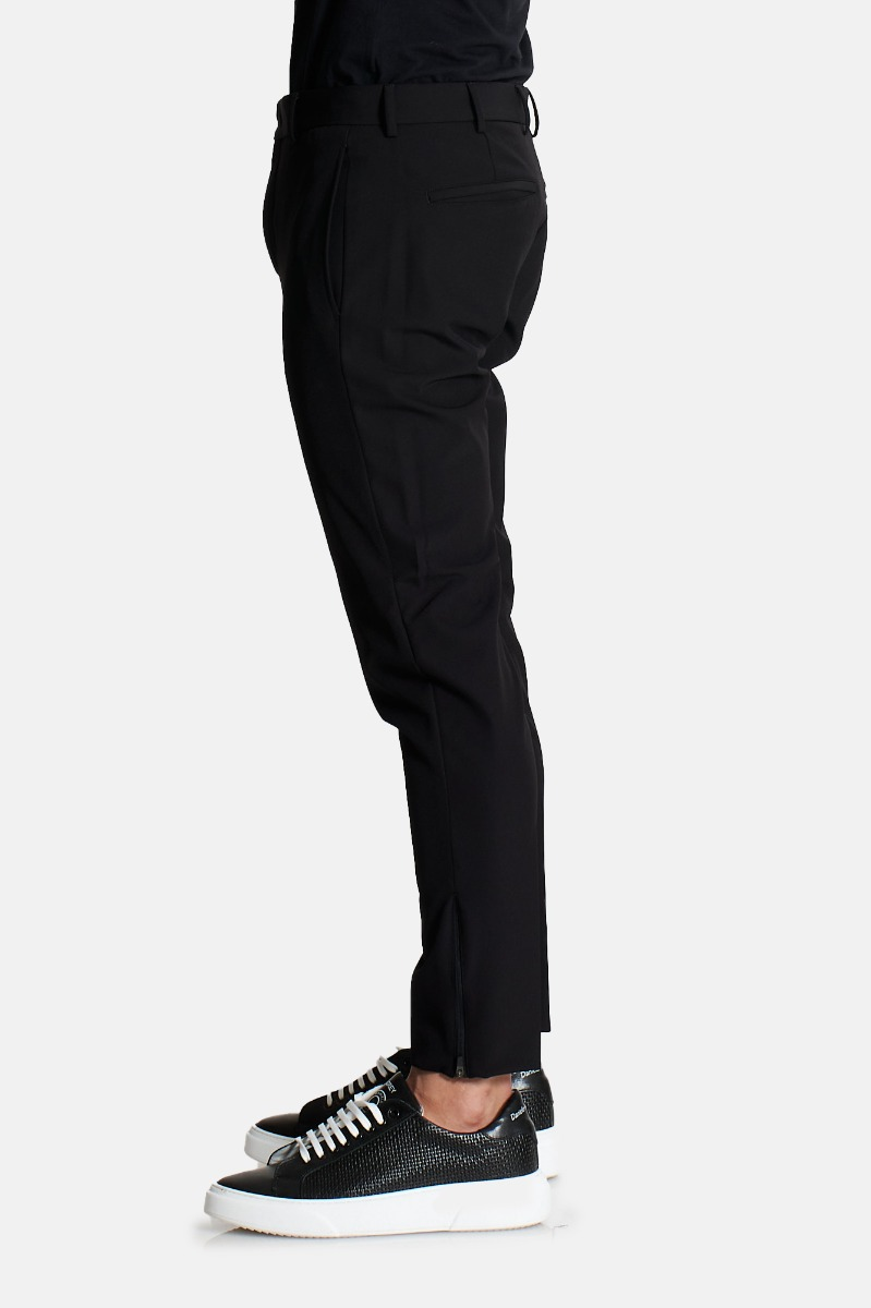 Pantalone zip orl epsilon nu47 -Nero