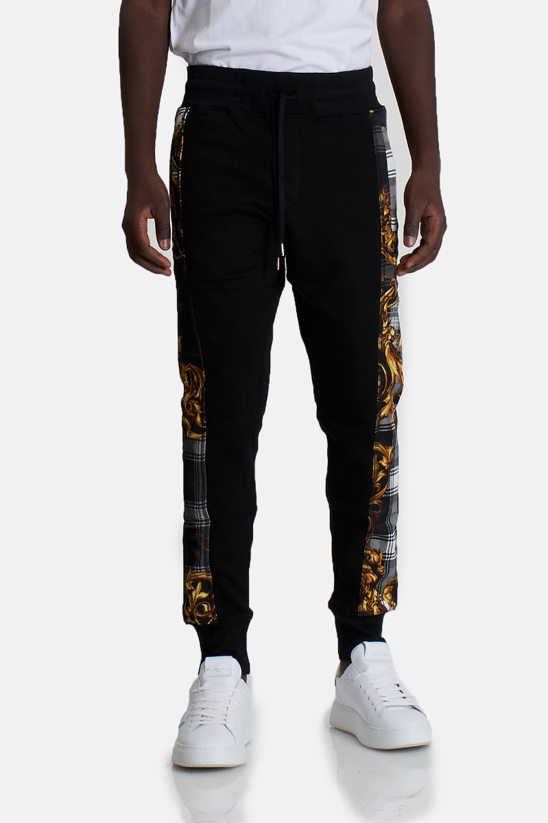 Pantalone higland contrast -Nero